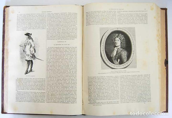 Libros antiguos: Historia Universal. Tomo 9 - Guillermo Oncken. Montaner y Simón. 1894 - Foto 4 - 132692118