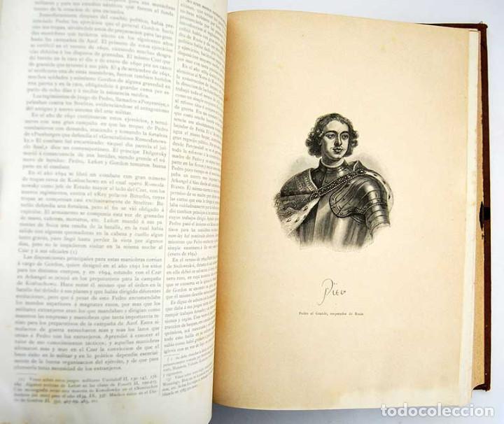 Libros antiguos: Historia Universal. Tomo 9 - Guillermo Oncken. Montaner y Simón. 1894 - Foto 5 - 132692118