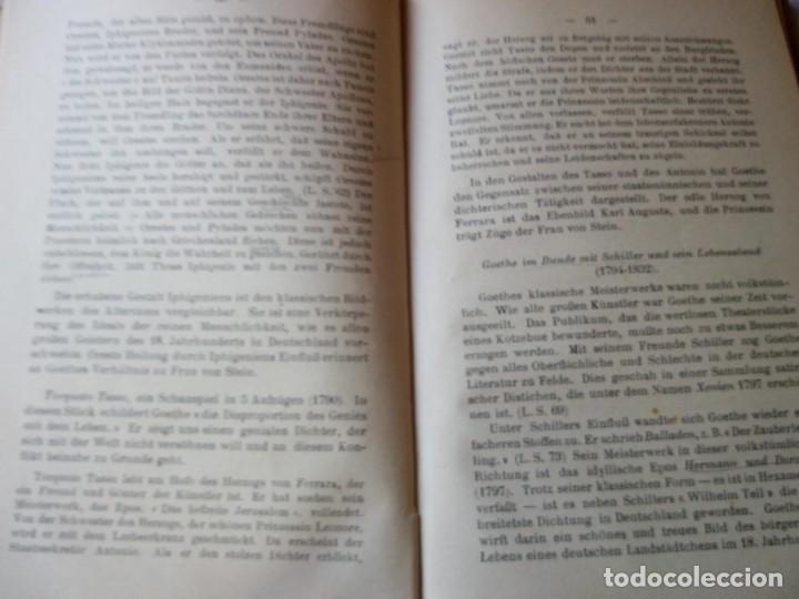 Libros antiguos: einführung in die deutsche literatur schenker & hassler payot & cie 1917 - Foto 6 - 132694290