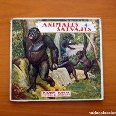 Libros antiguos: ANIMALES SALVAJES - EDITORIAL RAMON SOPENA - TAMAÑO 20X22 - VER FOTOS INTERIORES . Lote 132705742