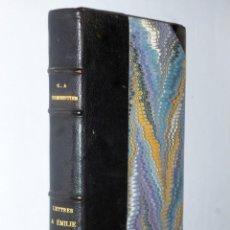Libros antiguos: LETTRES A EMILIE SUR LA MYTHOLOGIE. Lote 132775698