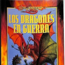 Libros antiguos: LOS DRAGONES EN GUERRA - MARGARET WEIS - TRACY HICKMAN --REF-5ELLCAR. Lote 132799438