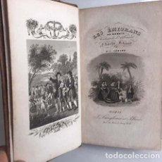 Libros antiguos: LES ÉMIGRANS AU BRÉSIL... (PARIS, 1837. SCHOPPE) LIT. ROMÁNTICA 4 GRABADOS. EMIGRANTES BRASIL. Lote 132813486