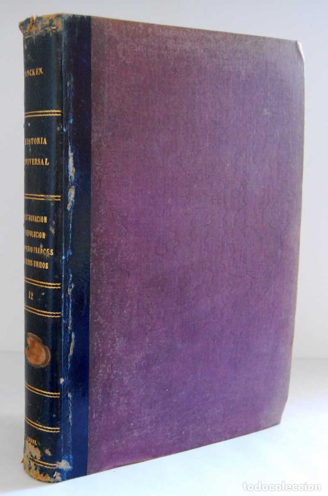 HISTORIA UNIVERSAL. TOMO 12 - GUILLERMO ONCKEN. MONTANER Y SIMÓN (Libros Antiguos, Raros y Curiosos - Historia - Otros)