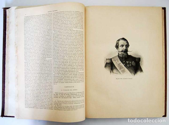 Libros antiguos: Historia Universal. Tomo 12 - Guillermo Oncken. Montaner y Simón - Foto 4 - 132849430
