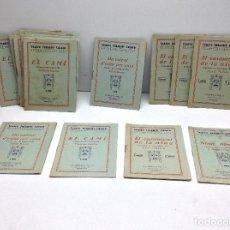 Libros antiguos: LOTE TEATRE INFANTIL FATTY 21 CUADERNOS AÑOS 20 - LLIBRERIA MILLA BARCELONA. Lote 132930130