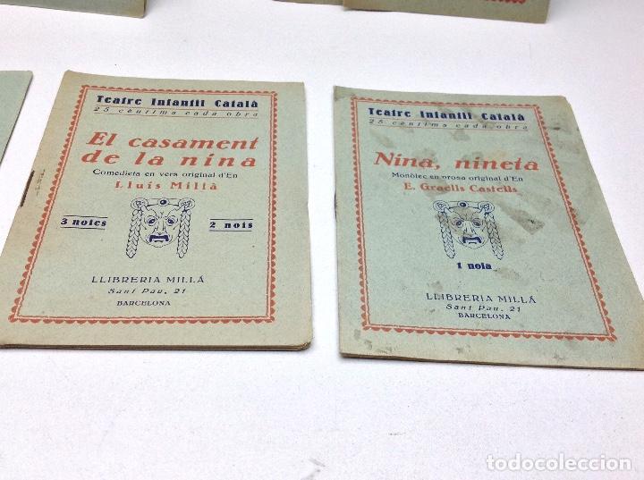 Libros antiguos: LOTE TEATRE INFANTIL FATTY 21 CUADERNOS AÑOS 20 - LLIBRERIA MILLA BARCELONA - Foto 3 - 132930130