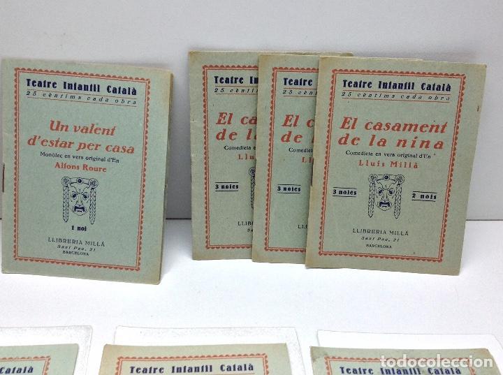 Libros antiguos: LOTE TEATRE INFANTIL FATTY 21 CUADERNOS AÑOS 20 - LLIBRERIA MILLA BARCELONA - Foto 5 - 132930130
