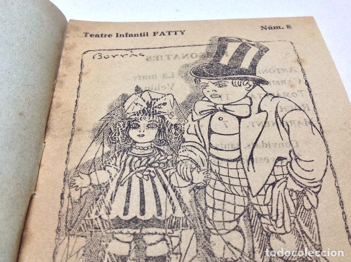 Libros antiguos: LOTE TEATRE INFANTIL FATTY 21 CUADERNOS AÑOS 20 - LLIBRERIA MILLA BARCELONA - Foto 6 - 132930130