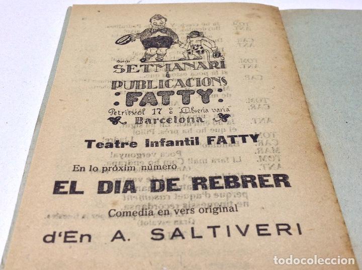 Libros antiguos: LOTE TEATRE INFANTIL FATTY 21 CUADERNOS AÑOS 20 - LLIBRERIA MILLA BARCELONA - Foto 7 - 132930130