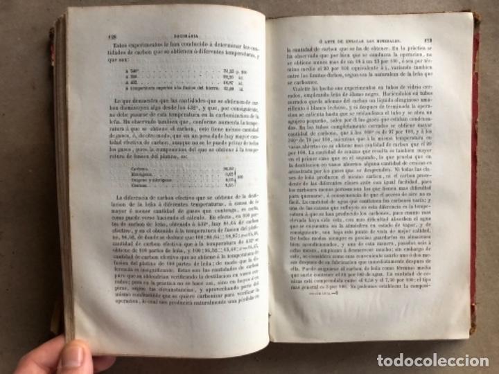 Libros antiguos: DOCIMASIA O EL ARTE DE ENSAYAR LOS MINERALES. JOSÉ MARÍA SOLER. MADRID,1873. - Foto 6 - 132931402
