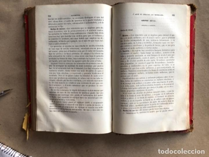 Libros antiguos: DOCIMASIA O EL ARTE DE ENSAYAR LOS MINERALES. JOSÉ MARÍA SOLER. MADRID,1873. - Foto 8 - 132931402
