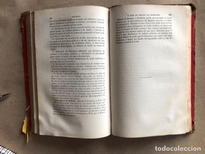 Libros antiguos: DOCIMASIA O EL ARTE DE ENSAYAR LOS MINERALES. JOSÉ MARÍA SOLER. MADRID,1873. - Foto 9 - 132931402