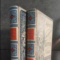 Libros antiguos: MONTANER SIMON EDITORES. OBRAS ESCOGIDAS DE VENTURA VEGA 1984 - 1985 . 2 TOMOS. Lote 132933710