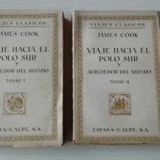 Libros antiguos: VIAJE HACIA EL POLO SUR Y ALREDEDOR DEL MUNDO. Lote 132652874