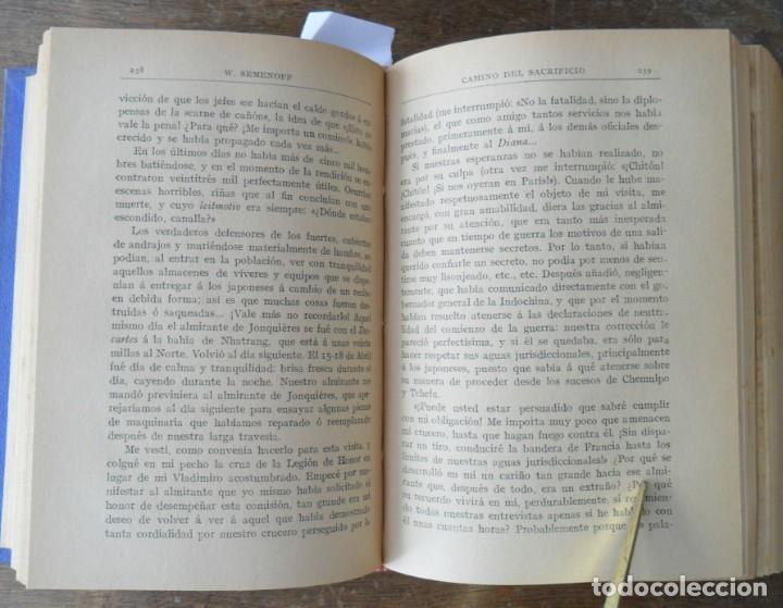 Libros antiguos: CAMINO DEL SACRIFICIO La Expiación EL PRECIO DE LA SANGRE Después De Tsushima. Guerra Ruso Japonesa - Foto 4 - 132994434