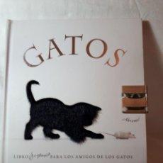 Libros antiguos: GATOS, LIBRO SORPRESA. Lote 133091270