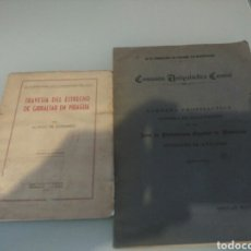 Libros antiguos: LIBRO TRAVESIA DEL ESTRECHO DE GIBRALTAR EN PIRAGUA LOTE. Lote 133227411
