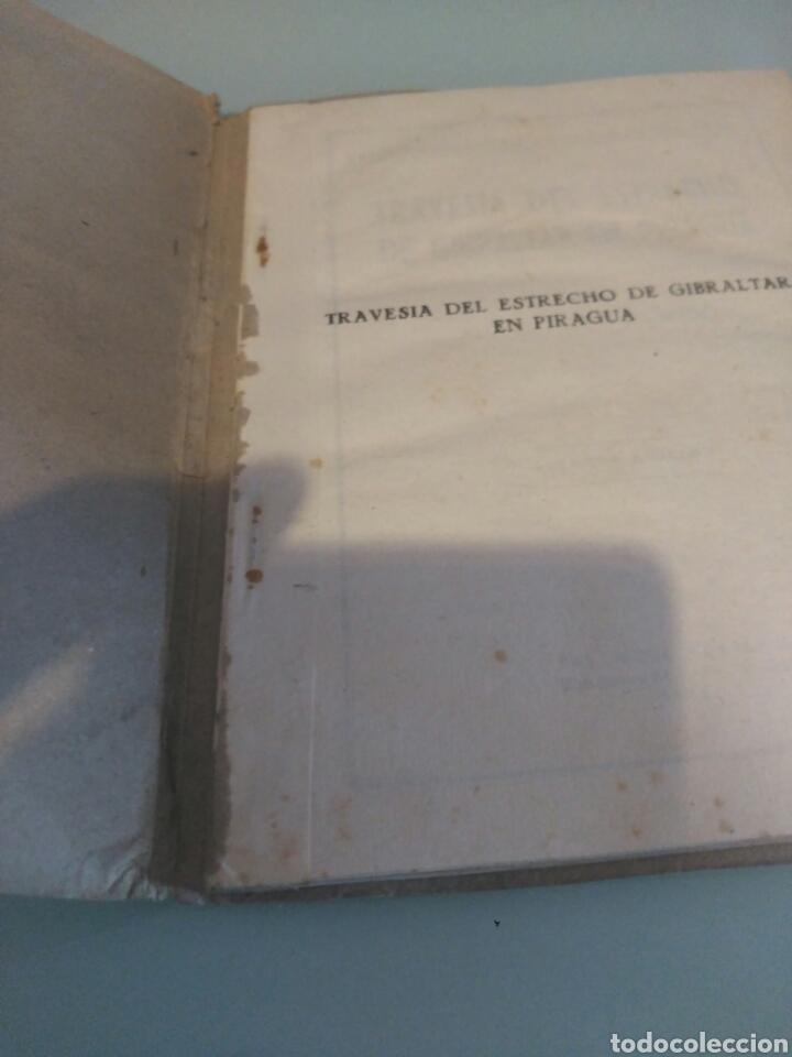 Libros antiguos: Libro travesia del estrecho de Gibraltar en piragua lote - Foto 3 - 133227411