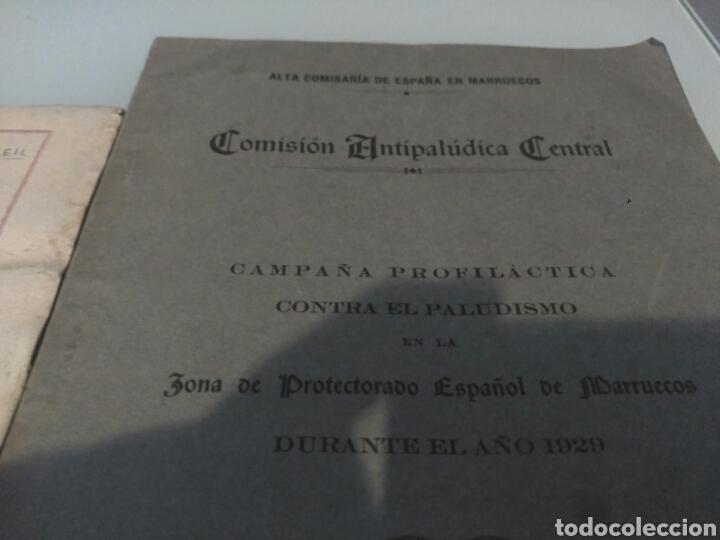 Libros antiguos: Libro travesia del estrecho de Gibraltar en piragua lote - Foto 4 - 133227411