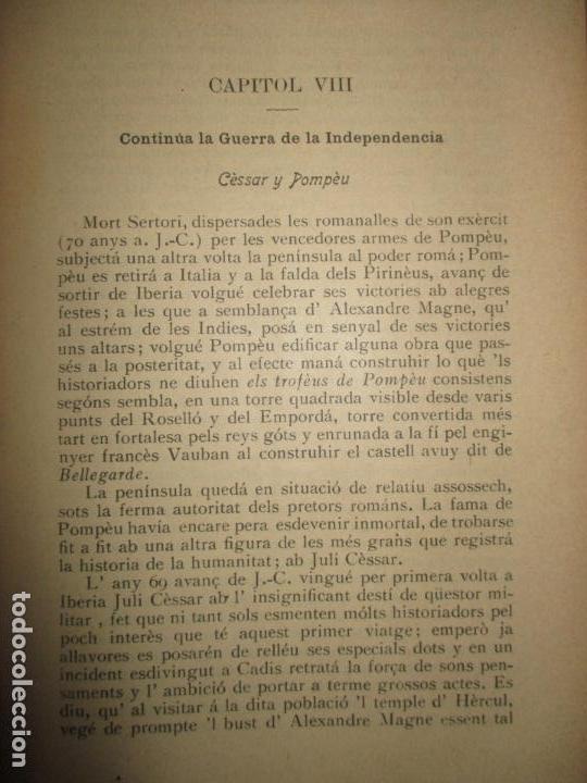 Libros antiguos: HISTORIA DE CATALUNYA. 1906. - Foto 3 - 123145188