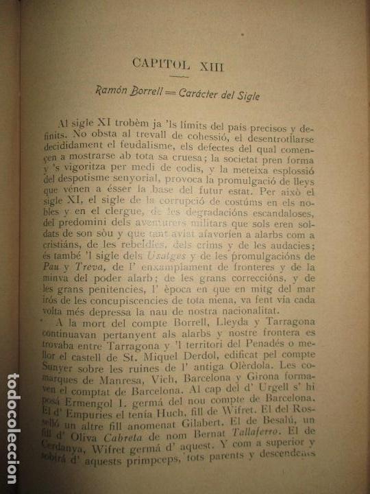 Libros antiguos: HISTORIA DE CATALUNYA. 1906. - Foto 6 - 123145188