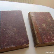 Libros antiguos: HERNAN CORTÉS COLECCIÓN GLORIAS NACIONALES - MANINI EDITOR 1869 - TOMOS I Y II CS142. Lote 133268118