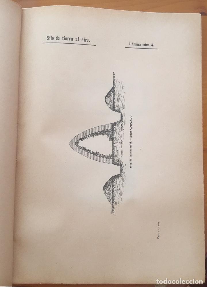 Libros antiguos: ENSILAJE- SILOS- MINISTERIO DE FOMENTO- MEMORIAS PREMIADAS 1.903 - Foto 4 - 133321422