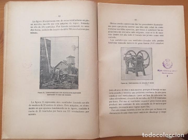 Libros antiguos: ENSILAJE- SILOS- MINISTERIO DE FOMENTO- MEMORIAS PREMIADAS 1.903 - Foto 6 - 133321422
