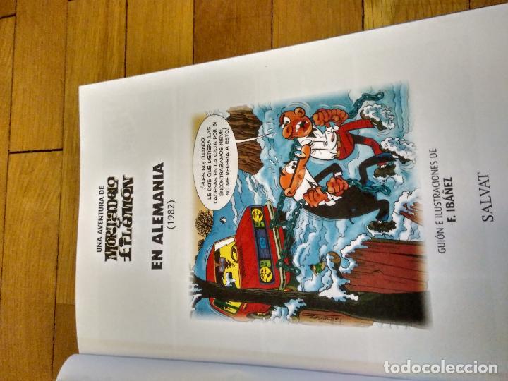 Libros antiguos: LIBRO TAPA DURA DE MORTADELO Y FILEMON DE SALVAT REEDICION - Foto 3 - 133521002