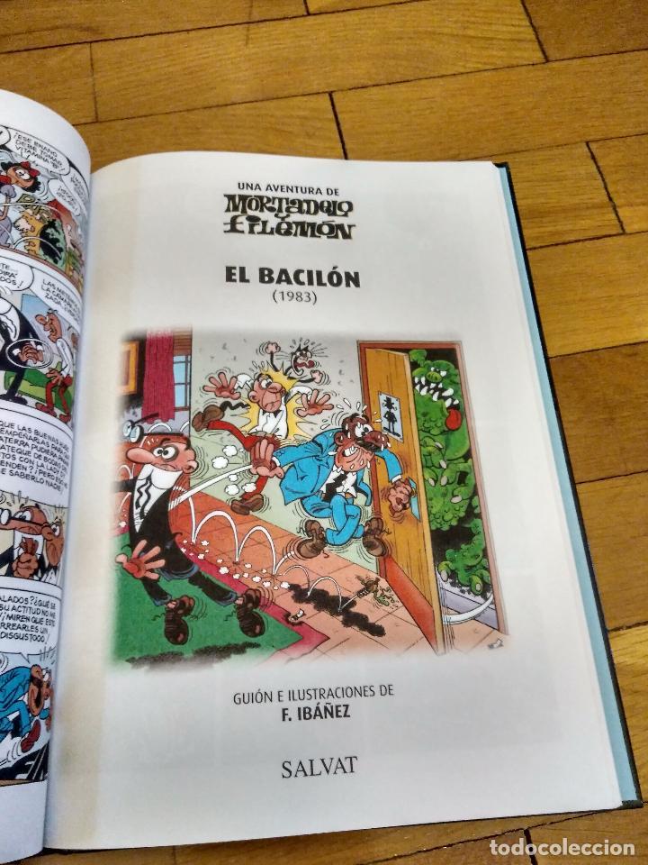 Libros antiguos: LIBRO TAPA DURA DE MORTADELO Y FILEMON DE SALVAT REEDICION - Foto 4 - 133521002