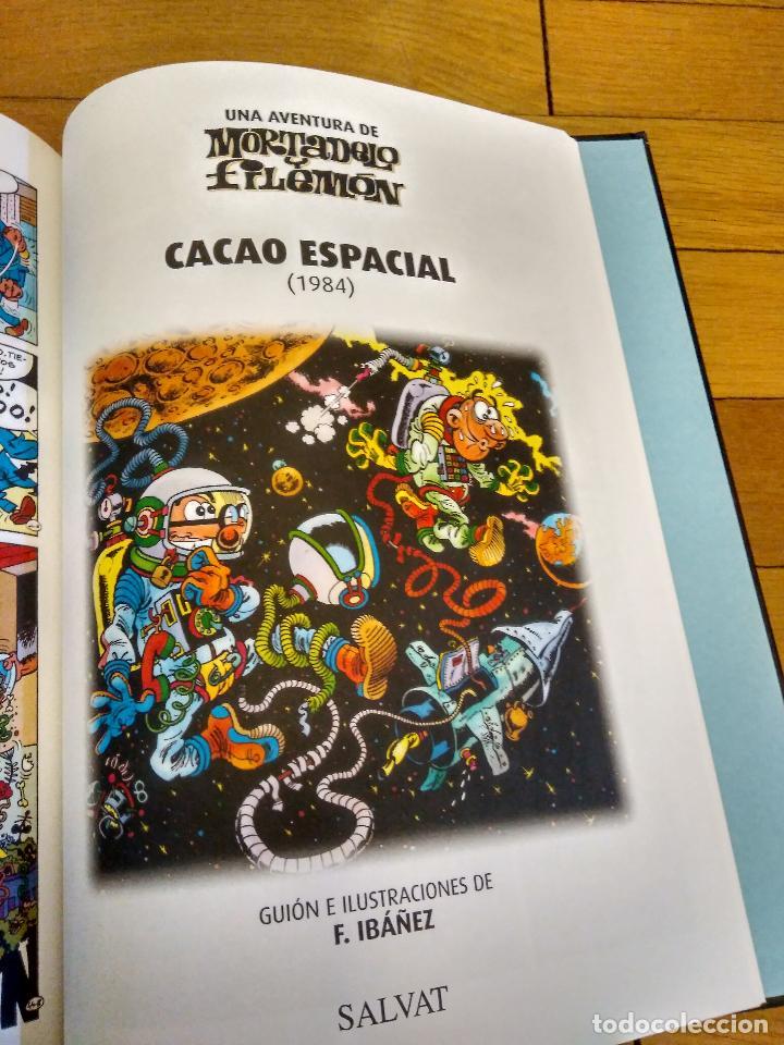 Libros antiguos: LIBRO TAPA DURA DE MORTADELO Y FILEMON DE SALVAT REEDICION - Foto 5 - 133521002
