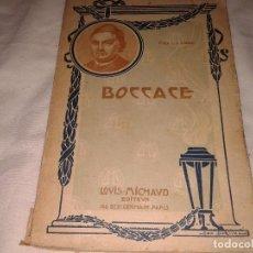 Libros antiguos: BOCCACE, CHARLES SIMOND , EN FRANCES. Lote 133528934
