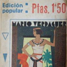 Libros antiguos: TRES PIPAS. MEMORIAS NOVELADAS. - VERDAGUER, MARIO. - BARCELONA, 1929.. Lote 123257462