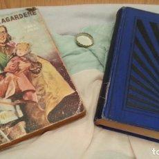 Libros antiguos: NOVELAS VIEJITAS. AÑOS 30 Y 1.928. PAREJA.. Lote 133618374