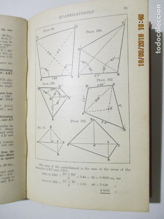 Libros antiguos: PRACTICAL PLANE AND SOLID GEOMETRY. I. H. MORRIS. JOSEPH HUSBAND. 1912 NEW YORK. BOMBAY - Foto 3 - 133643958