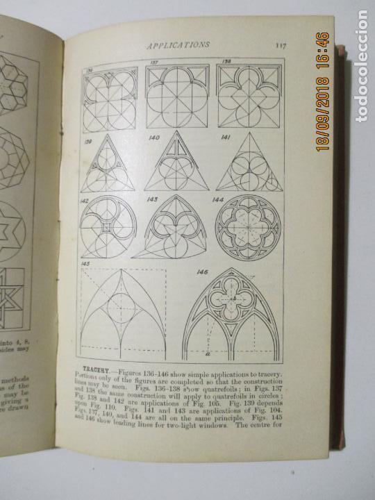Libros antiguos: PRACTICAL PLANE AND SOLID GEOMETRY. I. H. MORRIS. JOSEPH HUSBAND. 1912 NEW YORK. BOMBAY - Foto 4 - 133643958
