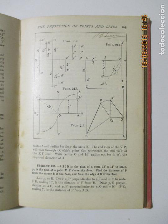 Libros antiguos: PRACTICAL PLANE AND SOLID GEOMETRY. I. H. MORRIS. JOSEPH HUSBAND. 1912 NEW YORK. BOMBAY - Foto 5 - 133643958