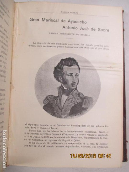 Libros antiguos: LA VILLA IMPERIAL DE POTOSÍ. BROCHA GORDA, JULIO L. JAIMES. BUENOS AIRES. 1905. NUMEROSOS RETRATOS - Foto 4 - 133693738