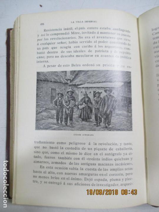 Libros antiguos: LA VILLA IMPERIAL DE POTOSÍ. BROCHA GORDA, JULIO L. JAIMES. BUENOS AIRES. 1905. NUMEROSOS RETRATOS - Foto 7 - 133693738