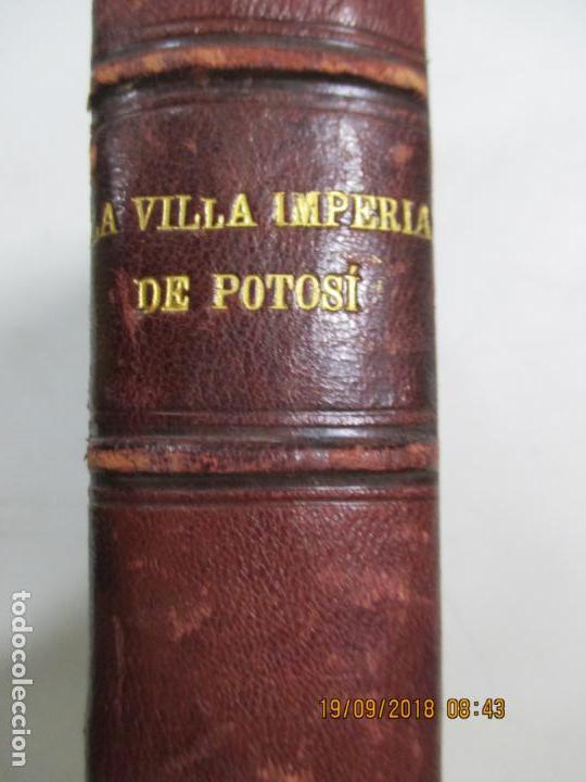 Libros antiguos: LA VILLA IMPERIAL DE POTOSÍ. BROCHA GORDA, JULIO L. JAIMES. BUENOS AIRES. 1905. NUMEROSOS RETRATOS - Foto 11 - 133693738