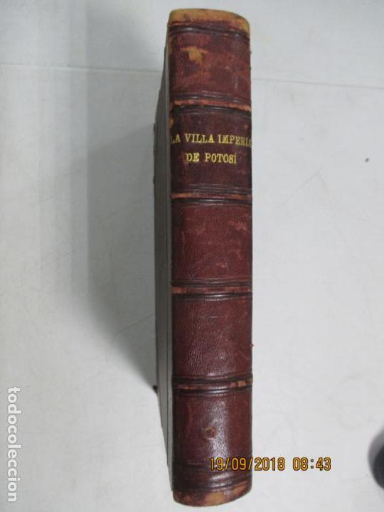 Libros antiguos: LA VILLA IMPERIAL DE POTOSÍ. BROCHA GORDA, JULIO L. JAIMES. BUENOS AIRES. 1905. NUMEROSOS RETRATOS - Foto 12 - 133693738
