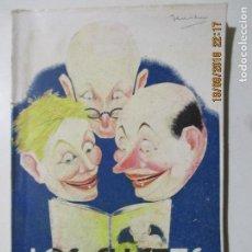 Libros antiguos: LOS CHISTES MAS CHISTOSOS. EL LIBRO DE LA RISA. EDITORIAL GASSÓ. BARCELONA 1931. Lote 133772482