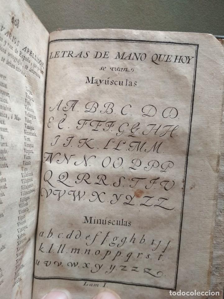 Alte Bücher: Ortografia de la lengua castellana compuesta por la Real Academia Española-1792- IMPRENTA IBARRA -MA - Foto 4 - 133808358