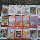 Libros antiguos: LOTE 19 LIBROS INFANTILES. Lote 133917066
