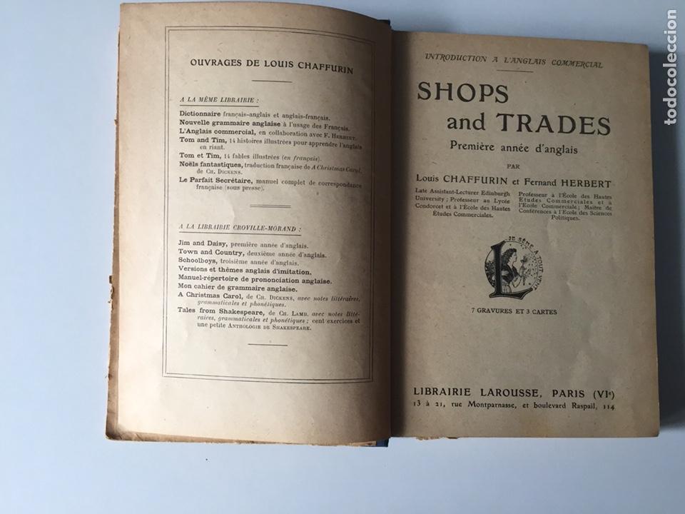 Libros antiguos: Shops and trades Chaffurin Herbert Larousse Paris - Foto 2 - 133979238