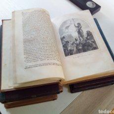 Libros antiguos: HIJOS DEL PUEBLO EUGENIO SUE 6 TOMOS COMPLETA HISTORIA 20 SIGLOS FRANCIA 1858-1860. Lote 133997198