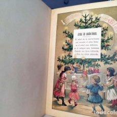 Alte Bücher - El arpa de los niños (Libro infantil c 1890-1900) Láminas cromolitografiadas a color. - 134021262