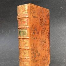 Libros antiguos: 1773 - ALEMBERT - FILOSOFÍA - CALCULO DE PROBABILIDADES - JESUITAS - ENCUADERNACIÓN. Lote 134024486