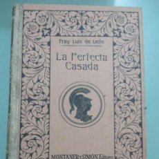 Le n fray luis de la perfecta casada edici comprar en todocoleccion 25193586 - La perfecta casada ...